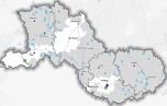 Localisation (commune d'implantation) des travaux pour l'eau aidés par France Relance en Nouvelle-Aquitaine - juillet 2021 - La nature des projet est différenciée dans la légende : Assainissement (lutte contre les pollutions) - Eau potable (changement climatique) - Hygiénisation des boues - Restauration écologique (biodiversité)